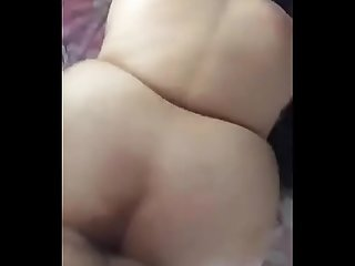 BBW Lady, She is Enjoying Ass Fuck