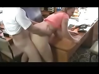 Hot bbw with big titsand visits her man S office for a Quickie