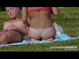 Three thong girls thecandidtube