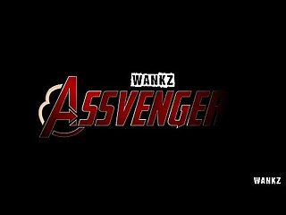 Wankz assvengers porn parody with marsha may
