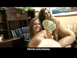 Amateur chick takes money for a fuck 14