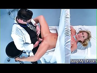 Superb Patient (Cherie Deville) Get Seduced By Doctor And Nailed video-10