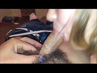 Teens gone wild loves sucking dicks works hard cock till it busts in her mouth then swallow load