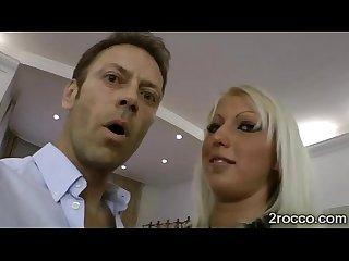 Gorgeous Big boobed brunette in romantic Sex scene