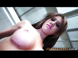 Gabriela Ferrari linda faz um vídeo solo se masturbando