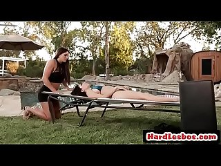 Clit Massage Lesson (Aspen Rae & Darcie Dolce) video-01