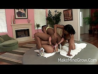 Melrose, Baby Cakes and Melody - Lesbians Getting Horny