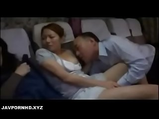Japanese Father fuck daughter mom asleep