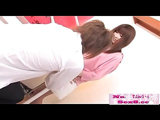 Jav idol get cream pie