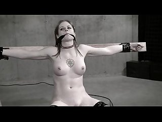 Wasteland Bondage Sex Movie - Sexy Dominatrix in White Latex (Pt. 2)