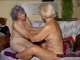 Lesbian grannies very pervert real amateur