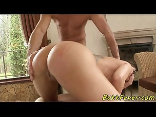 Bigbutt beauty analfucked in missionary
