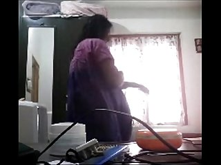 Desi mallu Aunty dress change caught on hidden camera mms clip