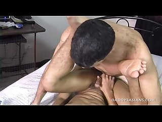 Big Daddy Mike Fucks Cute Asian Twink Dylan