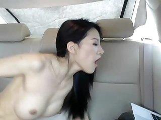Asian slut in car more on www xxxcam ga