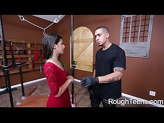 Beautiful Gina Valentina Gives Head and Pounded Hard