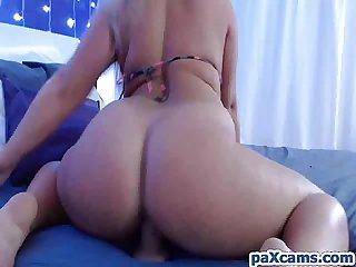 Blonde slut cocoloca masturbating webcamshow