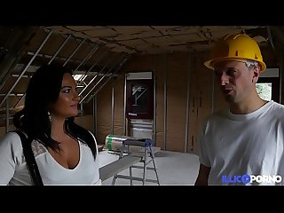 Eva se fait baiser sur le chantier full video