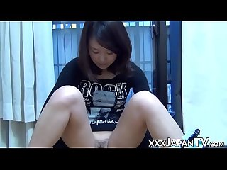 Reality Japanese teens spreading legs for hairy vaginas