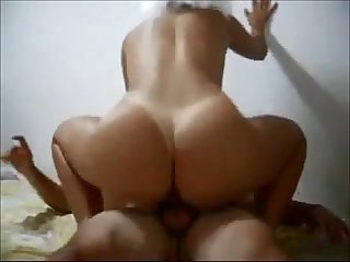 Curvy college babe fucked on homemade