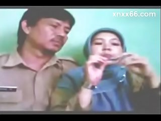 Indonesian bidan berjilbab