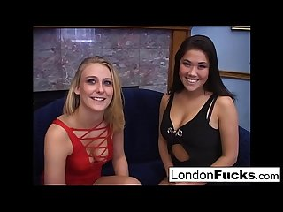 London and Natalie norton suck cock