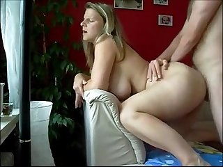 Hot german milf on homemade