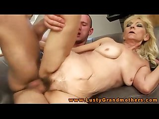 Amateur mature GILF is riding a cock