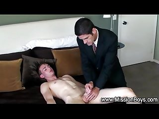Religious taboo guilty cock tug