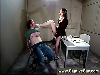 Hot femdom bitch gets off