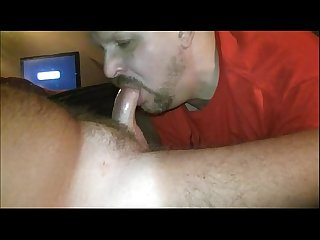 Bi trucker gets blowjob cums in my mouth