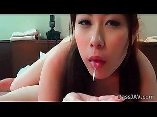 Intense pov blowjob along sweet and horny kii