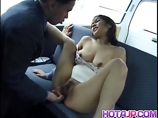 Jyuri hashimoto deals big dick between her lips