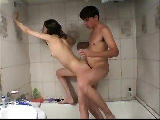 Having sex in the bath tub