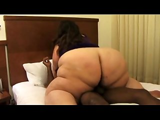 Big booty white ssbbw wendy takes a bbc