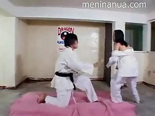 Karate porn in Asian