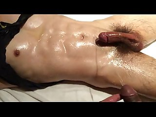 Boys massage with piss n cum. Yummy