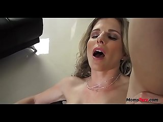 Drunk mom fucks sons nasty moms cock