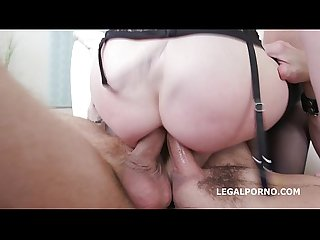 Face Full of cum for dp sluts lola taylor dominica phoenix after getting smash
