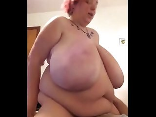Fat wife cuckolding husband amateur