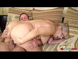 Young Cock For Granny Pussy - Viola Jones, Rob