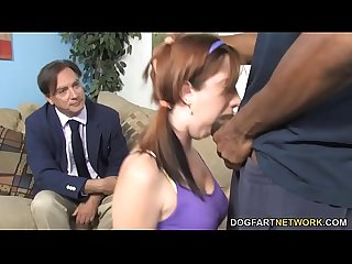 Daughter ivy rider gets ravaged by big black dick