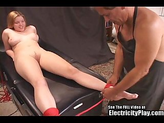 Candi apple bondage electro therapy