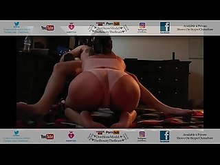 Giving My Landlord Head Hot Latina Ass Thong Fucked In Peach