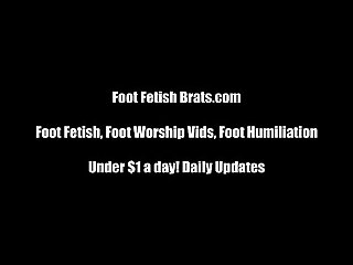 Free foot worship yoga instruction