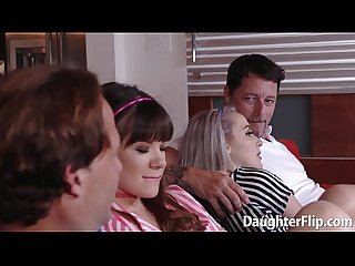 Attractive alison rey and iris rose suck dick and banged