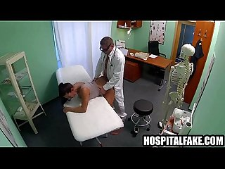 Doctor gets his cock sucked and fuckho gets fucked while her husband waits 720 6