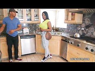 Ebony bubble butt
