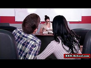 Sexy teacher fucked at school 29