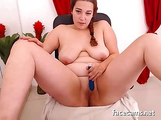 Beauty bbw girl masturbating on webcam facecams net